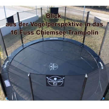Chiemsee Gartentrampolin