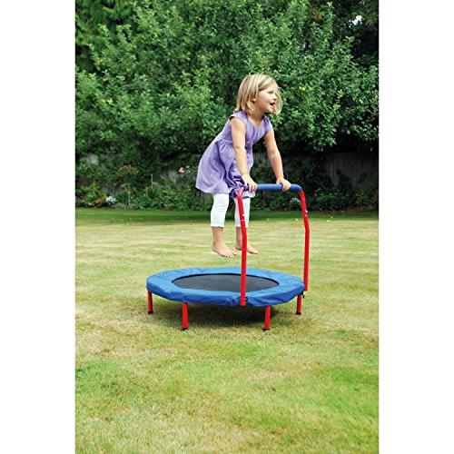 Eduplay Kindertrampolin mit Haltegriff