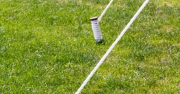 Bodenverankerung Trampolin